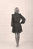 Beautiful elegant dress Royalty Free Stock Photography