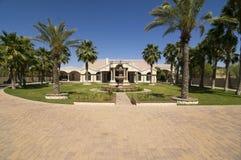 Beautiful elegant estate home Stock Images