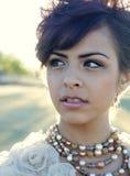 Beautiful elegant fashion model Royalty Free Stock Photography