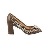 Beautiful and elegant female shoes. Stock Image
