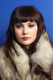 Beautiful elegant woman Stock Image