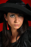 Beautiful elegant woman Stock Images