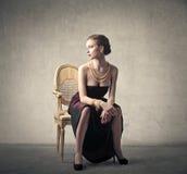 Beautiful elegant woman Royalty Free Stock Photo