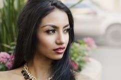 Beautiful elegant woman Stock Photography