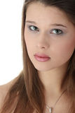 Beautiful elegant young woman Royalty Free Stock Photography