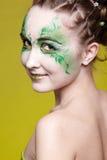 Beautiful elf girl Stock Photos