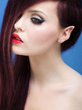 Beautiful elf girl Royalty Free Stock Photography
