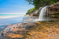 Beautiful Elliot Falls Stock Photos