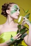 Beautiful elven girl Royalty Free Stock Image