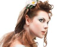 Beautiful elven girl Royalty Free Stock Photo