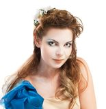 Beautiful elven girl Royalty Free Stock Photography
