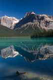 Beautiful Emerald lake Royalty Free Stock Photography