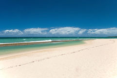 Beautiful empty beach on Hawaii Royalty Free Stock Image