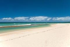 Beautiful empty beach on Hawaii. View of the beautiful empty beach on Hawaii Royalty Free Stock Image