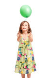Beautiful energetic young girl. Royalty Free Stock Photography