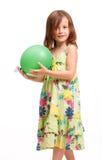 Beautiful energetic young girl. Royalty Free Stock Photography