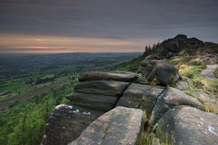 beautiful english landscape стоковое фото