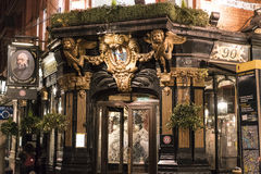 Beautiful English Pub The Salisbury in London Covent Garden London UK Stock Photos