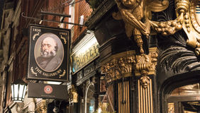 Beautiful English Pub The Salisbury in London Covent Garden London UK Stock Images