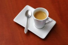 Beautiful espresso coffee Stock Photography