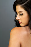 Beautiful ethnic brunette woman Stock Image