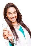 Beautiful ethnic doctor Stock Photo