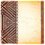 Beautiful ethnic ornament Royalty Free Stock Images