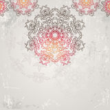 Beautiful ethnic ornamental  background Stock Images