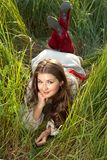 Beautiful ethnic young women Stock Photography