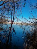 Beautiful Euphrates River stock photography