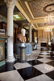 Beautiful Europe Imperial Style Hotel Lobby Stock Photo