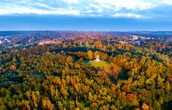 Three crosses hill in Vilnius royalty free stock images
