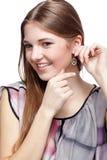 Beautiful european girl Royalty Free Stock Photography