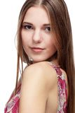 Beautiful european girl Royalty Free Stock Photo