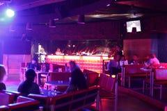 Beautiful european night club interior Stock Image