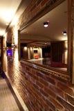 Beautiful european night club interior Stock Images