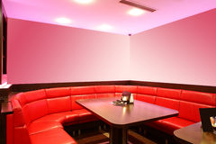 Beautiful european night club interior Stock Photo