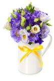 Beautiful eustoma flowers  bouquet Stock Photos