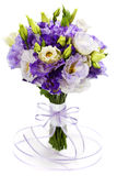 Beautiful eustoma flowers  bouquet Stock Photography