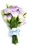 Beautiful eustoma flowers  bouquet Stock Photo