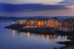 Beautiful Evening In Plymouth, UK Stock Images