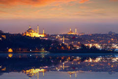 Beautiful evening in Istanbul, Turkey Stock Images