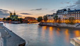 Beautiful evening in Paris, France Royalty Free Stock Photo