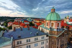 St. Francis of Assisi Church, Prague royalty free stock images