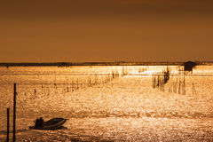 Beautiful evening sea Thailand. Royalty Free Stock Image