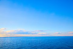 Beautiful evening seascape Royalty Free Stock Photography