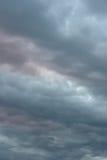 Beautiful evening sky Stock Image