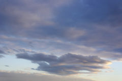 Beautiful evening sky Royalty Free Stock Images