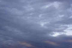 Beautiful evening sky Stock Photo