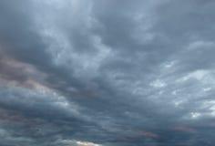 Beautiful evening sky Stock Photography